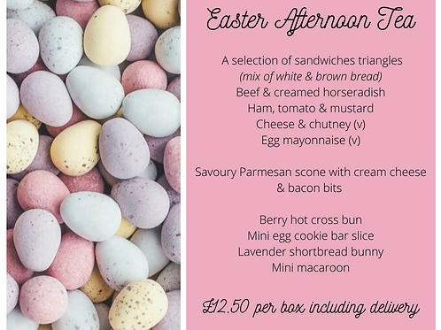 🐣 Easter Afternoon Tea Box