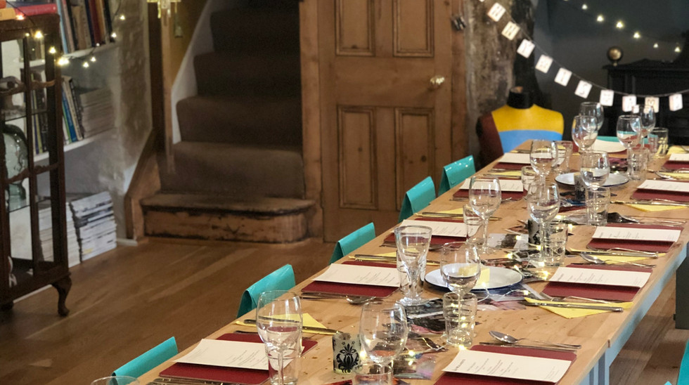 Hen Party Table Decor