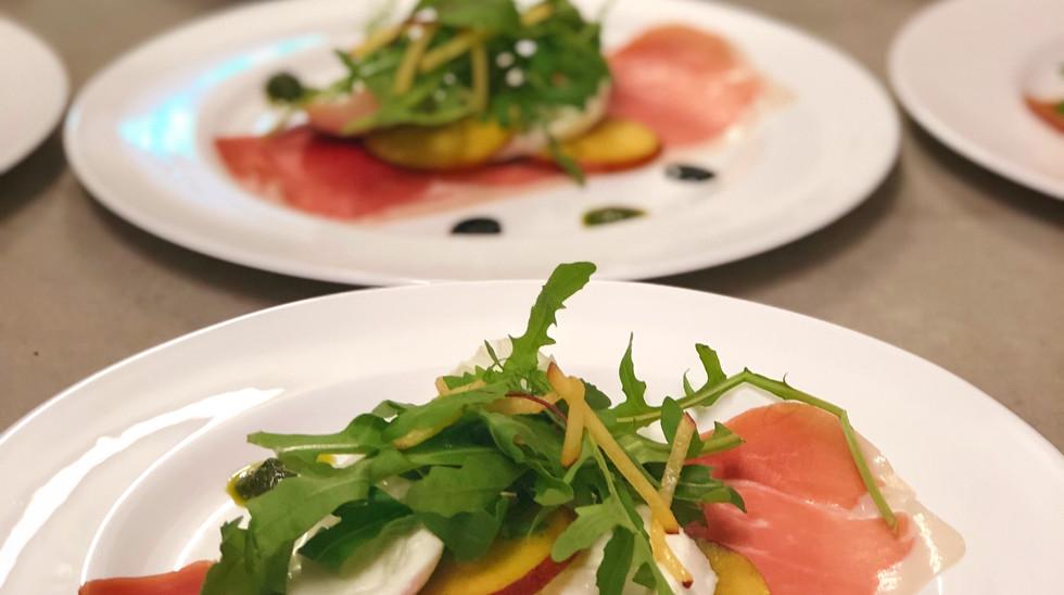Summer Menu Parma Ham Salad
