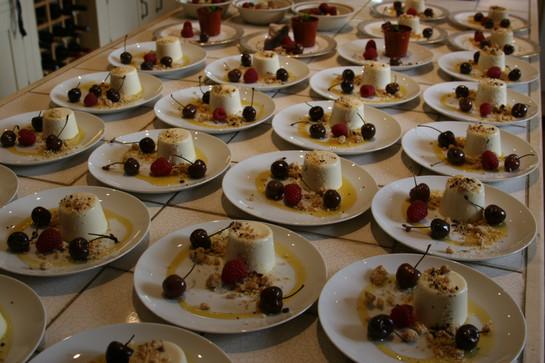 Pannacotta Dessert