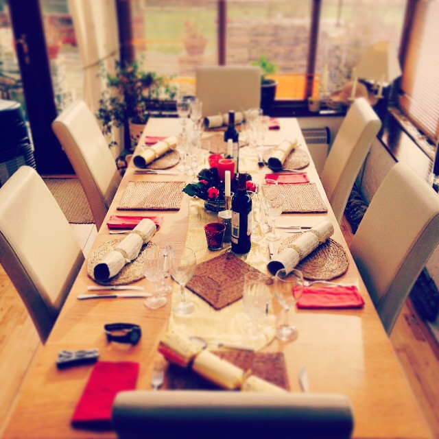 Christmas Dinner Table Design