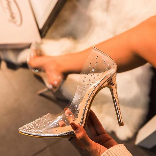 Sapatos com brilho