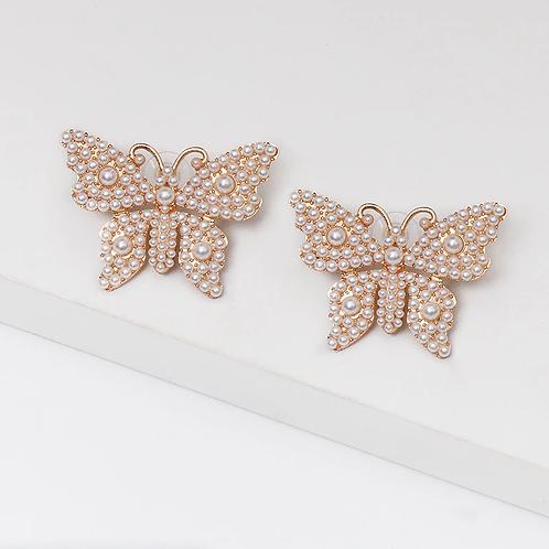 Brincos de borboletas
