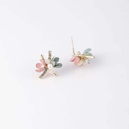 Brincos de flor