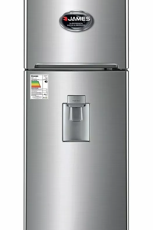 Heladera James J300 Inox con Dispensador