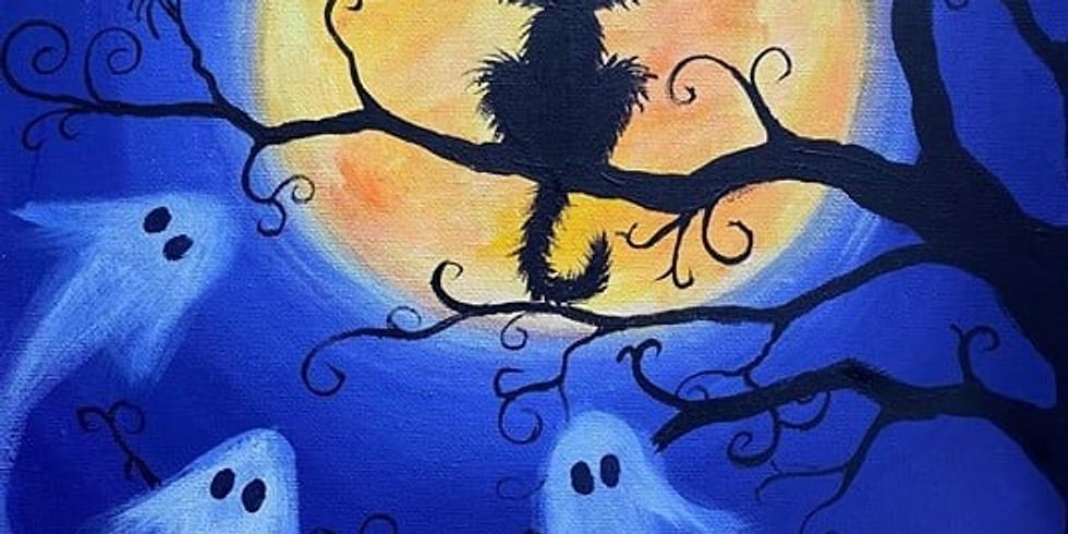 Children's Halloween Art Class - October Half Term