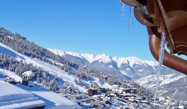 View towards the Tarentaise Valley