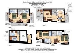 Floorplan Chalet Rosière