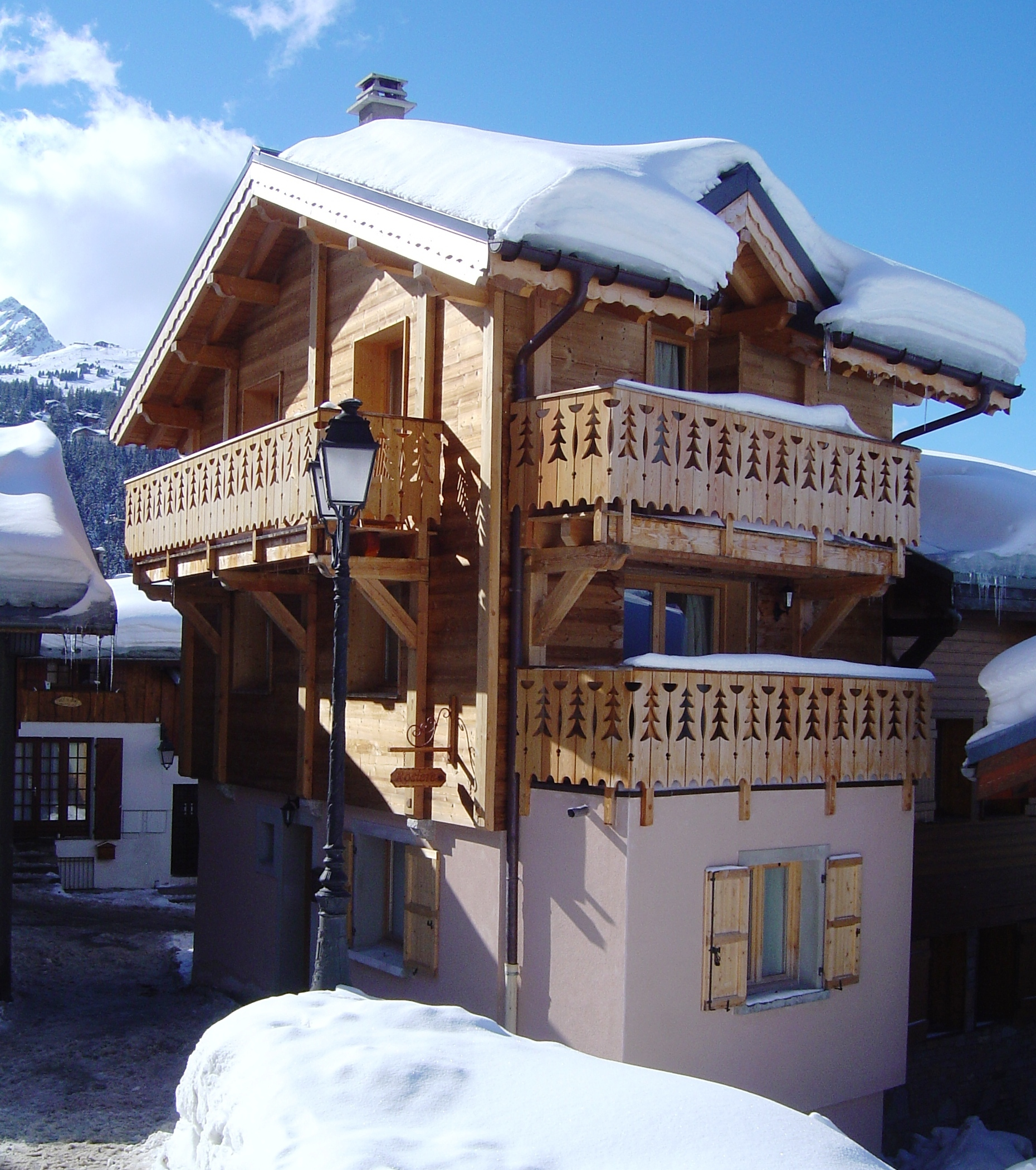 Outside view of Chalet Rosière