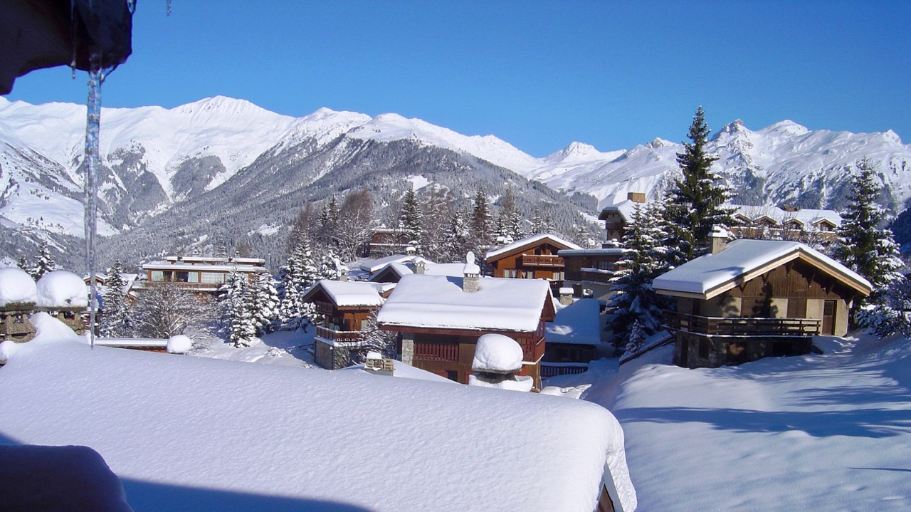 View towards M - La Plagne