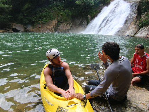 The best place to learn to white water kayak in Colombia!