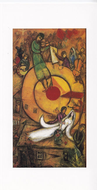 Marc Chagall. Befrielsen. Tekst af Benny
