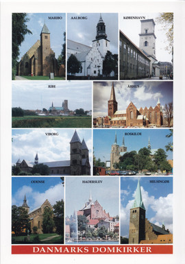 Danske domkirker. Tekst af N.F.S. Grundt