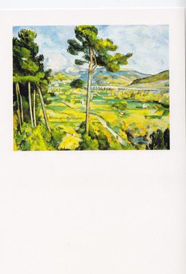 Paul Cezanne. Mont Sainte-Victoire. Teks