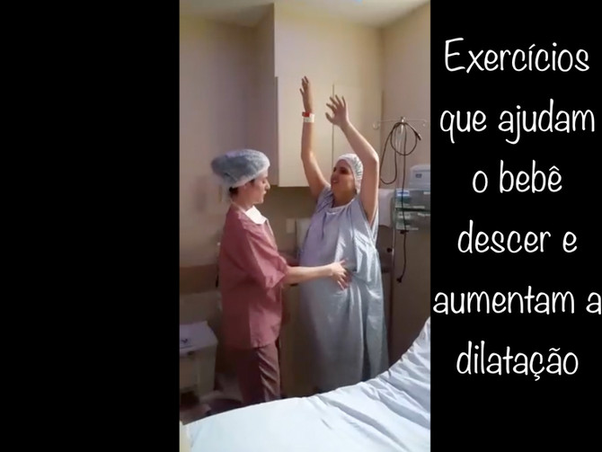 Grávida dança Anitta para facilitar o trabalho de parto