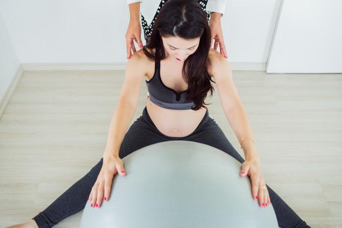 Fisioterapia pélvica para gestantes também ajuda no pós-parto