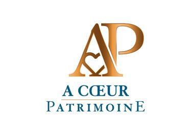 A Coeur Patrimoine - Matet Magali - logo
