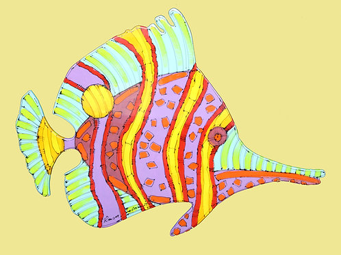 Long Nose Butterfly Fish 2