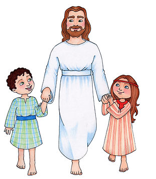 jesus with boy  and girl.png