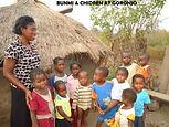 BUNMI AND CHILDREN AT GORONJO.JPG