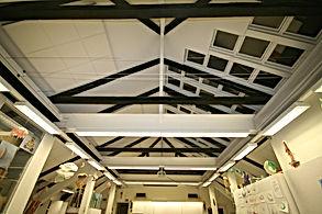 Terrasstak mörkläggningstak inomhusmiljö- SolsegelSverige
