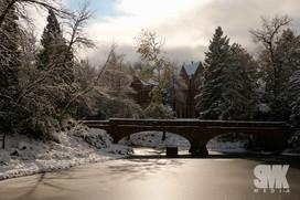 CU Campus Winter Photo