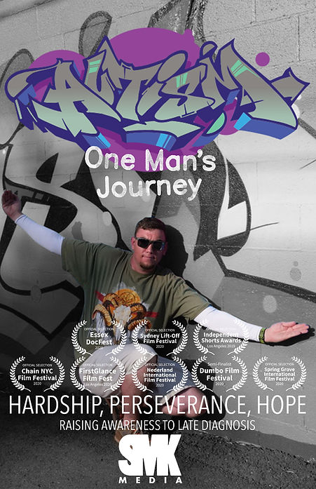 Autism One Mans Journey Flyer (WITH LAUR