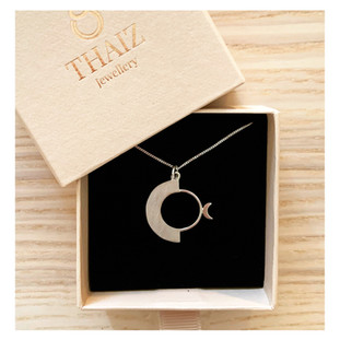 925 Silver Necklace inspired in Kpop Band Oneus.