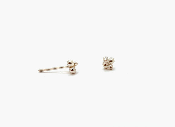 Blossoming Silver Studs