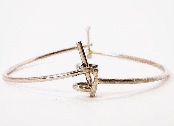Thin Tree Bracelet Silver