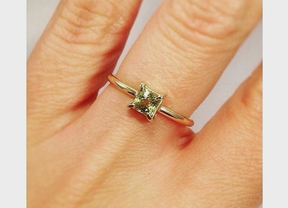 Garnet & Gold Ring