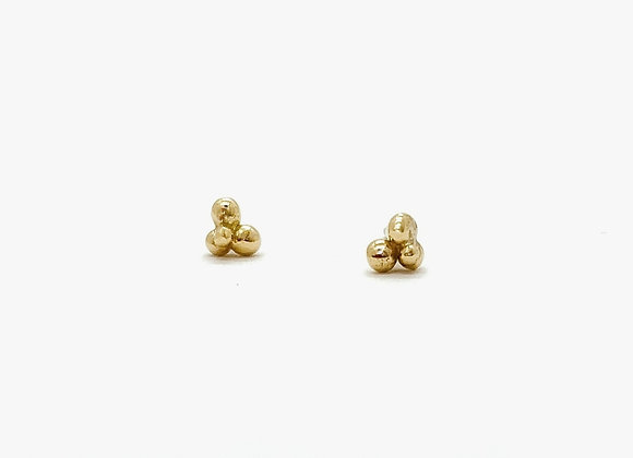 Blossoming Gold Studs