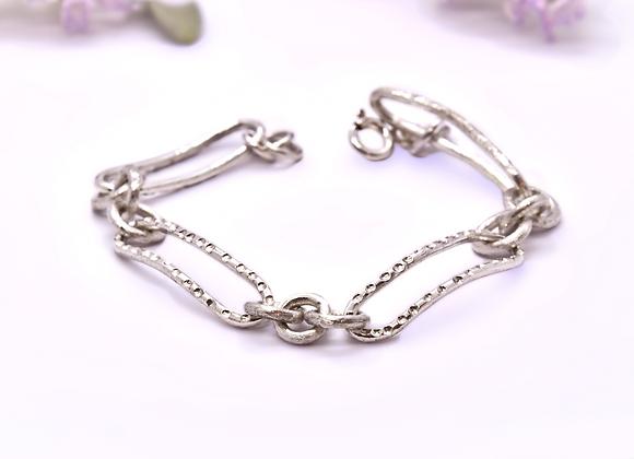 Moon Silver Bracelet