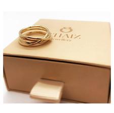 18k Yellow Gold Infinity Ring