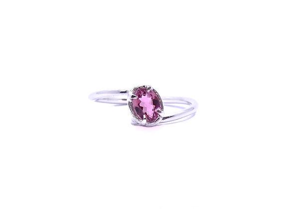 Tourmaline & Silver Ring