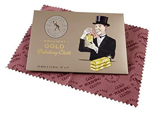 Jewellery Cleaning Cloth Gold