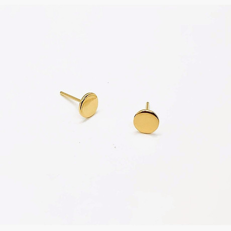 18k Yellow Gold Studs