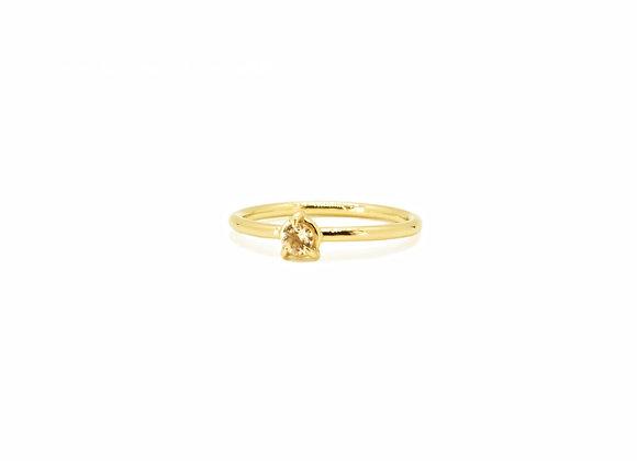 Gold & Morganite Ring