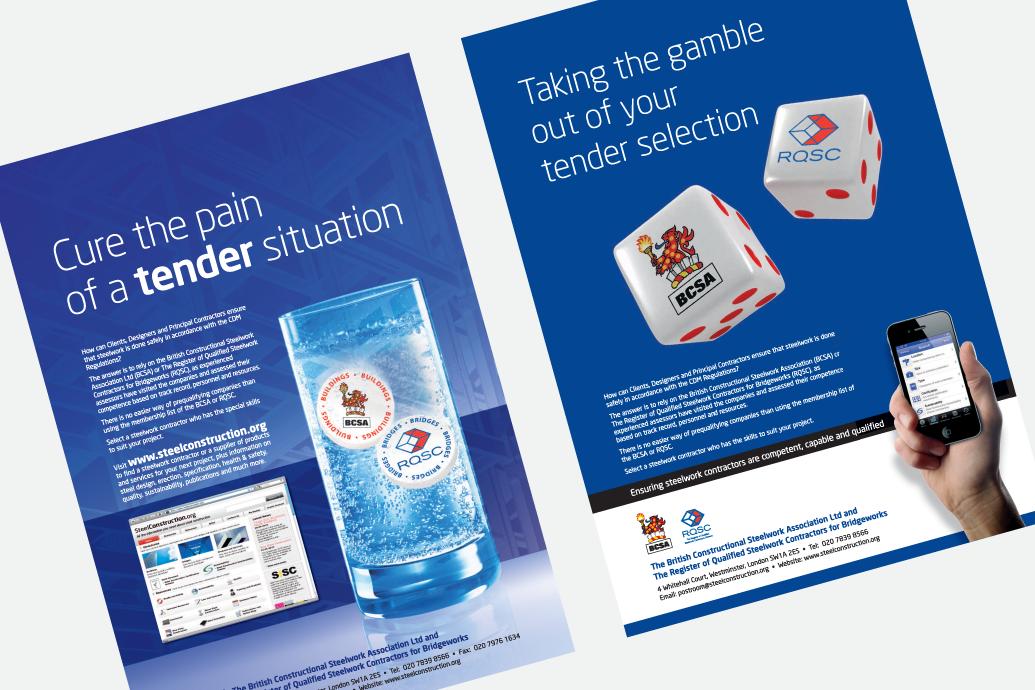 BCSA adverts