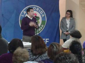 Colegio Las Lilas se adhiere a Programa de Desarrollo Comunitario en La Florida.