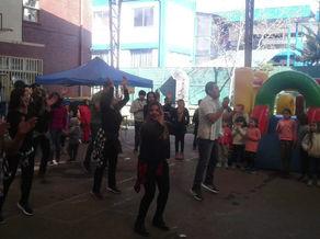 Día del niño. Evento de celebración en el colegio Las Lilas.