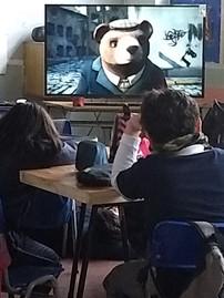 """Visionado cortometraje chileno   """"El Oso"""" (2014) que gandor un Oscar"""
