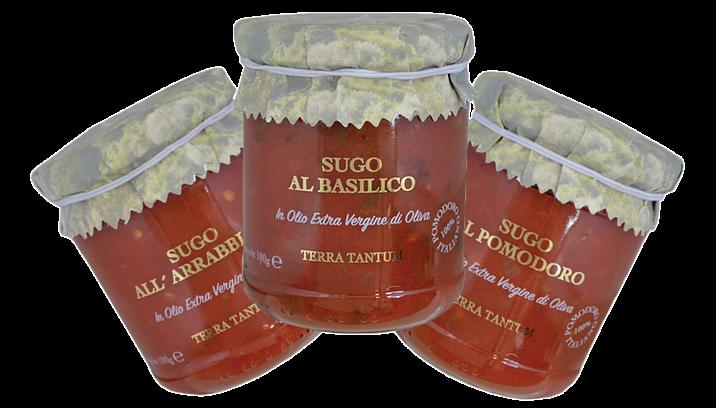 Italienische Sugo und Tomatensaucen