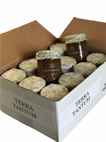 12 x Pate di Olive TAGGIASCHE - Olivenpate