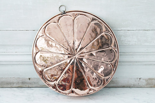 Antique French Cake Mould, C. 1880