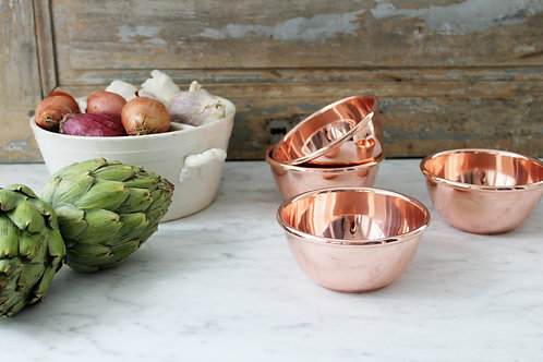 CMK Single Serving Copper Bowl ( BACK IN STOCK)