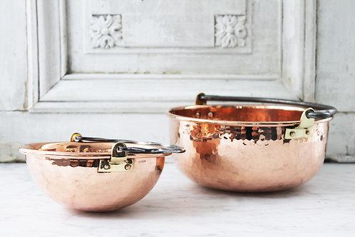 Antique French Bowls, Set/2 , C.1920