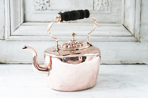 Antique English Benham & Froud Tea Kettle, C.1850