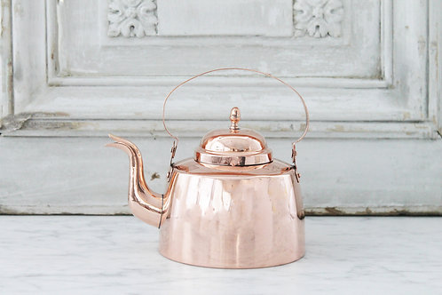 Antique French Tea Kettle, Late 19th Century