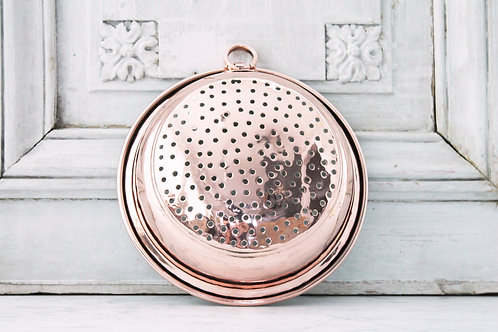 Antique French Strainer, C. 1880